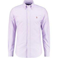 Koszule męskie na spinki: Polo Ralph Lauren SLIM FIT  Koszula purple
