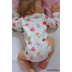 Body niemowlęce lody. Czerwone body niemowlęce marki Pakamera, z dzianiny. Za 65,00 zł.
