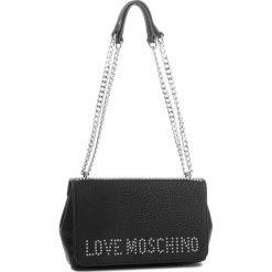 Torebka LOVE MOSCHINO - JC4064PP16LS000B  Nero. Czarne torebki klasyczne damskie Love Moschino, ze skóry ekologicznej. W wyprzedaży za 589,00 zł.