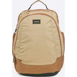 Quiksilver - Plecak. Brązowe plecaki męskie Quiksilver, z materiału. W wyprzedaży za 159,90 zł.