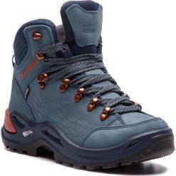 Trekkingi LOWA - Renegade Gtx Mid Ws GORE-TEX 320920 Iceblue/Cooper. Niebieskie buty trekkingowe damskie Lowa. W wyprzedaży za 729,00 zł.