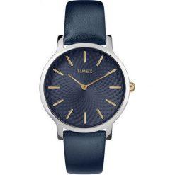 Zegarek Timex Damski TW2R36300 Metropolitan 34 Slim granatowy. Niebieskie zegarki damskie Timex. Za 280,99 zł.