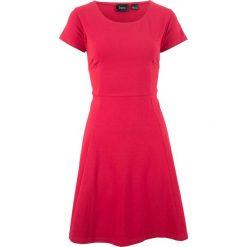Sukienki hiszpanki: Sukienka shirtowa bonprix czerwony