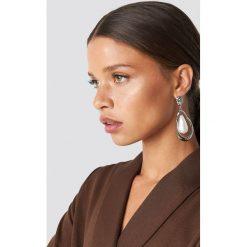 Kolczyki damskie: NA-KD Accessories Kolczyki z perłami - Silver