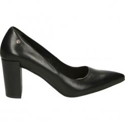 Czółenka - 5364 308NERO. Czarne buty ślubne damskie Venezia, ze skóry. Za 299,00 zł.