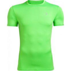 Koszulka treningowa męska TSMF600 - soczysta zieleń - Outhorn. Zielone odzież termoaktywna męska marki Outhorn, m, z materiału. W wyprzedaży za 29,99 zł.