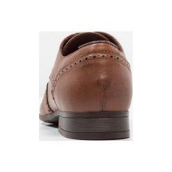 Buty wizytowe męskie: Burton Menswear London JASPER BROGUE Eleganckie buty tan
