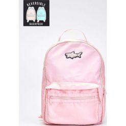 Dwustronny plecak - Różowy. Czerwone plecaki damskie marki Cropp. W wyprzedaży za 39,99 zł.