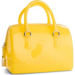 Torebka FURLA - Candy 941238 B BAS8 PL0 Cedro d. Żółte kuferki damskie Furla, z tworzywa sztucznego. W wyprzedaży za 469,00 zł.