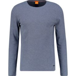 Swetry klasyczne męskie: BOSS Orange TERRIS SLIM FIT Sweter navy
