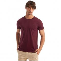 Polo Club C.H..A T-Shirt Męski L Burgundowy. Czerwone koszulki polo marki Polo Club C.H..A, l, z bawełny. W wyprzedaży za 109,00 zł.