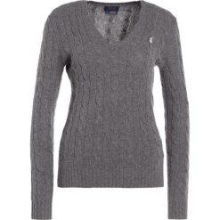 Swetry klasyczne damskie: Polo Ralph Lauren KIMBERLY  Sweter antique heather