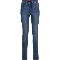 Rurki damskie: Dżinsy wyszczuplające sylwetkę SLIM bonprix niebieski