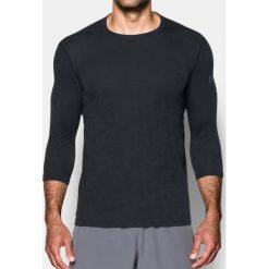 Under Armour Koszulka męska TBorne Power Sleeve T Ftd Czarna r. L (1305850-002). Szare koszulki sportowe męskie marki Under Armour, z elastanu, sportowe. Za 133,73 zł.