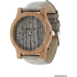 Unikatowy zegarek drewniany Seria Delicate-Grey. Szare zegarki męskie Pakamera, srebrne. Za 399,00 zł.