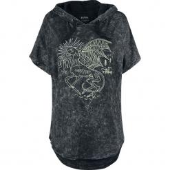 Harry Potter Forbidden Forest - Thestral Koszulka damska szary. Szare bluzki asymetryczne Harry Potter, l, z nadrukiem, z krótkim rękawem. Za 121,90 zł.
