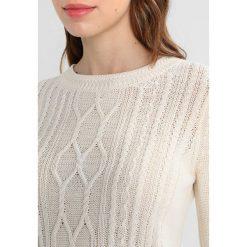 Swetry klasyczne damskie: Anna Field MAMA Sweter offwhite/dark blue