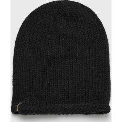 Levi's - Czapka. Brązowe czapki zimowe damskie Levi's®, z dzianiny. Za 99,90 zł.