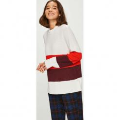 Only - Sweter. Szare swetry klasyczne damskie ONLY, l, z bawełny. W wyprzedaży za 99,90 zł.