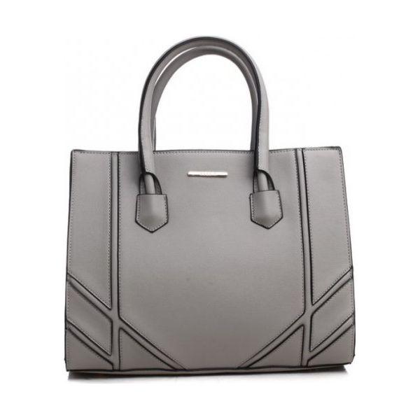 0cb0c374e7fcc Bessie London Torebka Damska Szary - Szare torebki klasyczne damskie ...