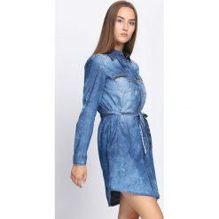 Sukienki: Niebieska Sukienka Dark Side