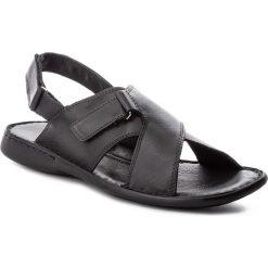 Sandały GINO ROSSI - Maroni MN2552-TWO-BG00-9900-0 99. Czarne sandały męskie skórzane marki Gino Rossi. W wyprzedaży za 149,00 zł.