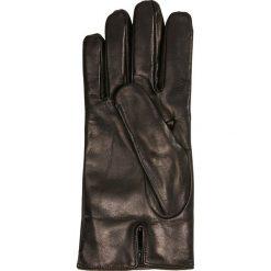 Rękawiczki męskie: Emporio Armani LEATHER MAN GLOVES BRICK RED Rękawiczki pięciopalcowe black