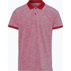 Nils Sundström - Męska koszulka polo, czerwony. Koszulki polo Nils Sundström, m, z bawełny. Za 49,95 zł.