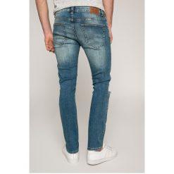 Only & Sons - Jeansy Loom. Niebieskie jeansy męskie slim marki Only & Sons, z bawełny. W wyprzedaży za 129,90 zł.