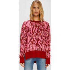 Trendyol - Sweter. Brązowe swetry oversize damskie Trendyol, l, z dzianiny. W wyprzedaży za 69,90 zł.