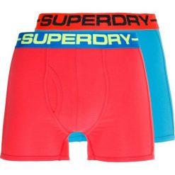 Superdry SPORT BOXER 2 PACK Panty hawaii blue/riviera pink. Niebieskie bokserki męskie Superdry, z bawełny. Za 129,00 zł.