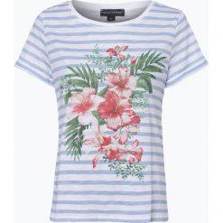 Franco Callegari - T-shirt damski, niebieski. Zielone t-shirty damskie marki Franco Callegari, z napisami. Za 89,95 zł.
