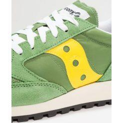 Saucony JAZZ ORIGINAL VINTAGE Tenisówki i Trampki treetop/yellow. Zielone tenisówki męskie Saucony, z materiału. Za 399,00 zł.