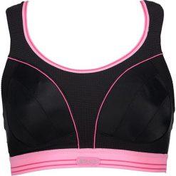 Biustonosze sportowe: Sportowy biustonosz w kolorze czarno-jasnoróżowym