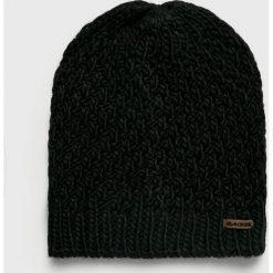 Dakine - Czapka. Czarne czapki zimowe damskie Dakine, na zimę, z dzianiny. Za 119,90 zł.