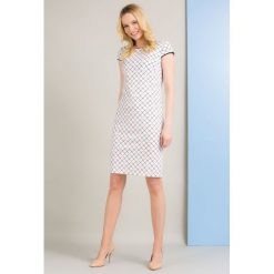 Sukienki: Sukienka z lamówką
