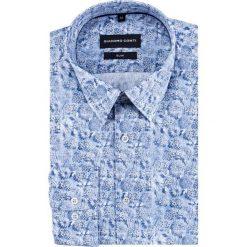 Koszula SIMONE slim KDNS000442. Białe koszule męskie na spinki marki Giacomo Conti, m, z bawełny, z klasycznym kołnierzykiem. Za 199,00 zł.