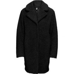 """Płaszcz """"baranek"""" bonprix czarny. Czarne płaszcze damskie bonprix. Za 269,99 zł."""