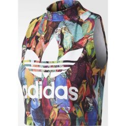 Adidas Koszulka damska Passaredo Multikolor r. 40 (BR5162). Szare topy sportowe damskie Adidas. Za 110,58 zł.