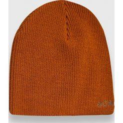 Columbia - Czapka Whirlibird. Pomarańczowe czapki zimowe męskie Columbia, z dzianiny. W wyprzedaży za 49,90 zł.
