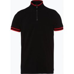 BOSS - Męska koszulka polo – Pallardi 01, czarny. Czarne koszulki polo Boss, m, w paski. Za 499,95 zł.