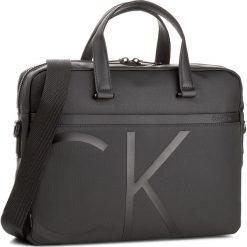 Torba na laptopa CALVIN KLEIN - Raised Logo Laptop B K50K503524 001. Czarne plecaki męskie marki Calvin Klein, z materiału. W wyprzedaży za 439,00 zł.
