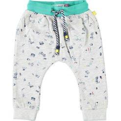 Spodnie niemowlęce: Spodnie w kolorze jasnoszarym
