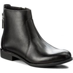 Botki LASOCKI - EST-MESA-01 Czarny 1. Czarne buty zimowe damskie Lasocki, ze skóry. Za 199,99 zł.