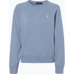 Polo Ralph Lauren - Damska bluza nierozpinana, niebieski. Niebieskie bluzy rozpinane damskie Polo Ralph Lauren, m, prążkowane. Za 529,95 zł.