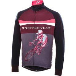 """T-shirty męskie: Koszulka kolarska """"Hellrider"""" w kolorze czarno-różowym"""