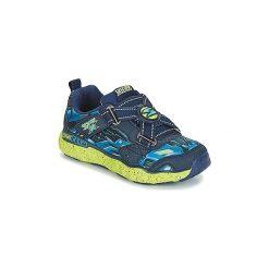Buty Dziecko Skechers  COSMIC FOAM. Szare buty sportowe dziewczęce marki Skechers, z materiału. Za 175,20 zł.