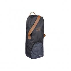 Torba na ogłowie. Szare torebki klasyczne damskie marki FOUGANZA, z materiału. Za 49,99 zł.
