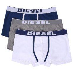 Diesel Zestaw Bokserek Męskich Damien 3 Szt. S Wielokolorowe. Szare bokserki męskie Diesel. Za 179,00 zł.