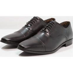 Buty wizytowe męskie: Burton Menswear London KEELAN EMBOSSED OXFORD Eleganckie buty black